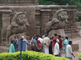 Sun Temple in Konark with Sri BKS Iyengar